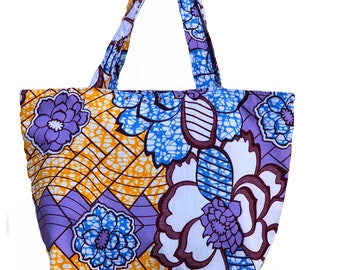 Large African Fabric bag
