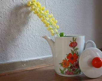 Floral Coffeepot