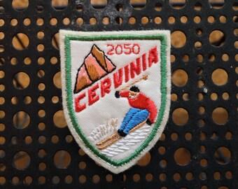 Vintage Ski Patch Cervinia