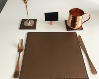 Copper card holders x 20