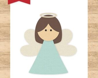 I Love Christmas Holy Angel Medium Die Set - Echo Park Paper