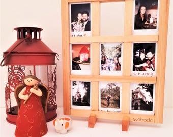Instax Mini Photo Display / Wood Photo Display / Fujifilm Instax Display /Wood Picture Frame