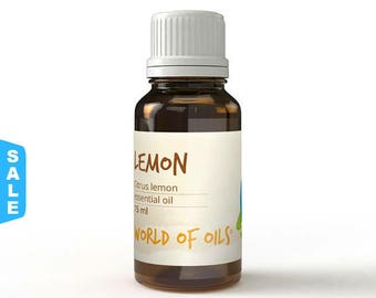 Sale - Essential oils Lemon Essential Oil- 15ml