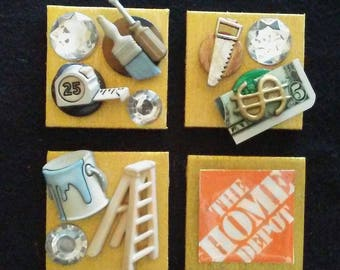 Construction or Home Improvement Magnets