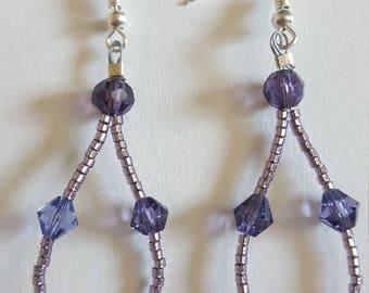 Perfectly Purple Earrings