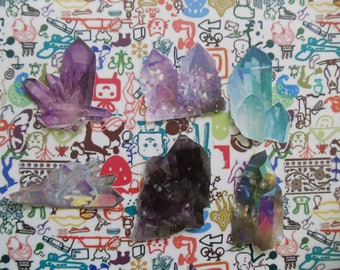 Crystals Sticker Pack: Tumblr Inspired