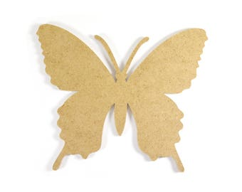 Large Butterfly in firewood - paint or decorate