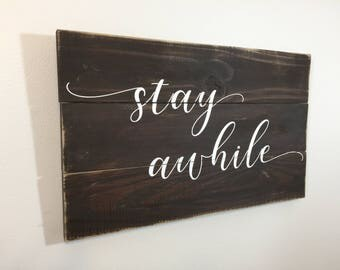 Farmhouse sign, farmhouse decor, rustic decor, cabin decor, wood sign quotes, farmhouse wood sign, farmhouse chic, housewarming gift