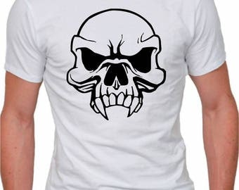 Skull T Shirt, Humour, gift for father's day, Christmas and birthday party.