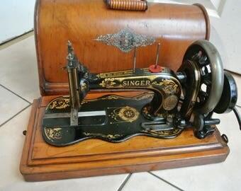 singer sewing machine base etsy. Black Bedroom Furniture Sets. Home Design Ideas