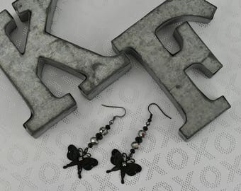 Sweet and Simple but noticeable butterfly earrings