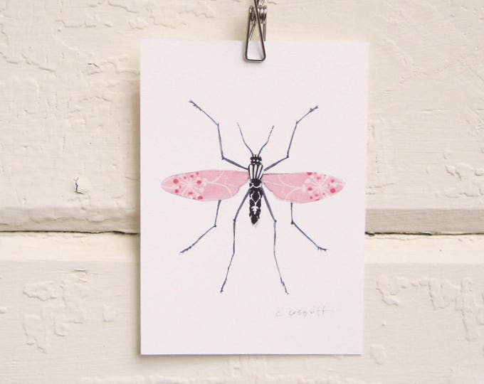 Pink and Black Long Legs Print