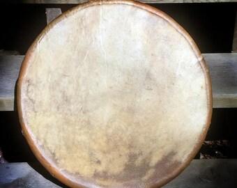 """16"""" Elk hide drum"""