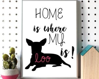 Custom dog Silhouette Customdog Custompet painting Doglover Doglovers gift Dog owner gift Cute dog gift Petlover HOMEIS homeiswithmydog Pets