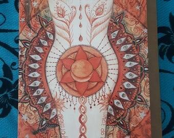 Sacral Chakra Card A6