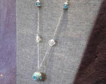 Turquoises Indian bead