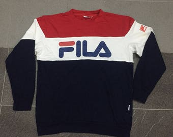 Fila big logo sweatshirts nice colour