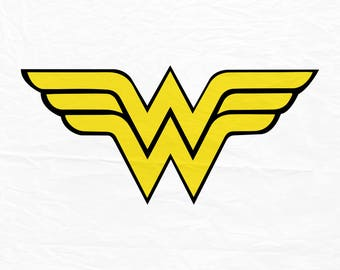 Wonder woman SVG, superhero svg, wonder woman sign, cricut silhouette cutting file, dxf, eps, png, download, svg, svg file.