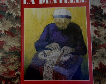 Le Puy en Velay 1986 number 27, magazine lace vintage bobbin lace