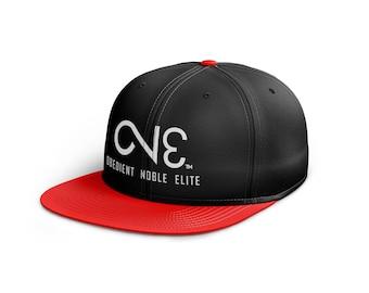 O.N.E. Black Red Snapback