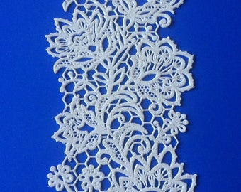 Spring Star Cake Lace