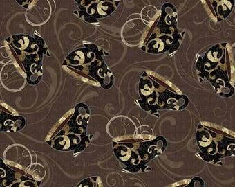 WINDHAM FABRICS fabric patchwork Café au LAIT