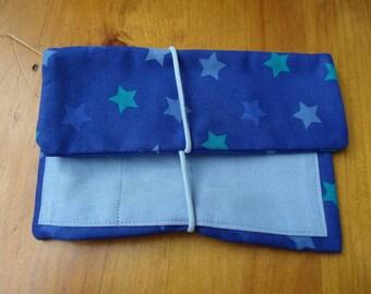 Leno pouches tobacco pouch blue star man star maritim
