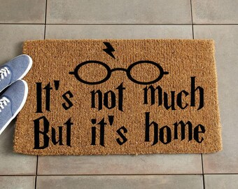 Harry Potter Doormat/Harry Potter Decor/Custom Doormat/Custom Welcome Mat/Personalized Doormat/Personalize Welcome Mat/Door Mat/Coir Doormat