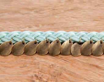 Boho chic Niyati Turquoise bracelet