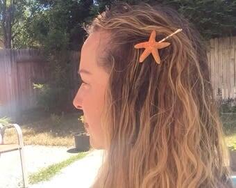 FREE SHIPPING - Starfish bobby pin