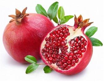 15 Organic Turkey Giant Pomegranate Seeds - Punica Granatum Shrub Fruit Tree