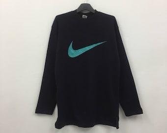 Rare!! Vintage nike sweatshirt / jumper / pullover / sweater / big logo / size medium to large
