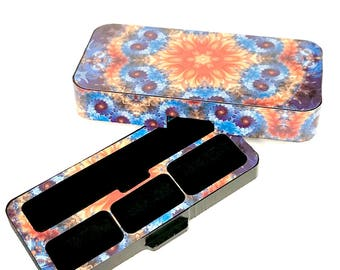 JUUL Vape travel case Flower Power design
