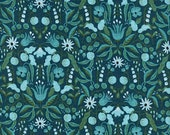 Rifle Paper Amalfi - Quilting Cotton - Cotton + Steel - Freja in Turquoise