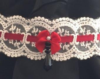Lace Lolita Choker Necklace