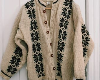 Scandi-lously Cute Woolen Sweater
