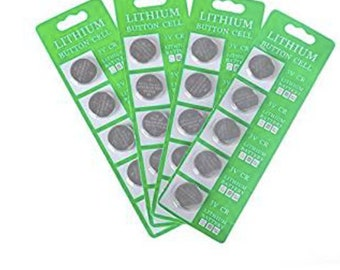 Battery Led String lights 20 CR2032 3 Volt Lithium Coin Battery Button Cell decorative lights LED Light led fairy lights