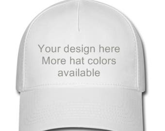 Customized hats, Bridesmaids hats, Team logos, Birthday parties