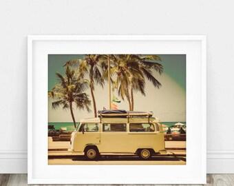 Vw Bus - Vw Van, Vw Decor, Vw Van Wall Art, Vw Bus Wall Art, Volkswagen, Volkswagen Bus, Vw Wall Art, Vw Bus Print, Vw Bus Photo, Vw Gift