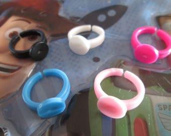5 supports child tea ring stick plastic 10 mm