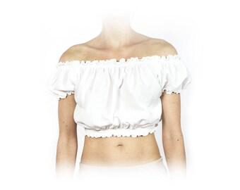 Irene top white