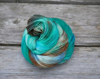 Hand Dyed Sock Yarn - I Can Carry it Off