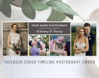 Facebook Timeline Cover Template Photography CW009