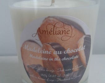 Madeleine chocolate scented candle