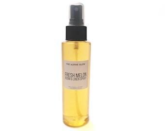 MELON ROOM SPRAY - Room Spray - Linen Spray Refresher - Body Spray - Air Freshener - Deodorizing Spray - Housewarming Gift - 4OZ