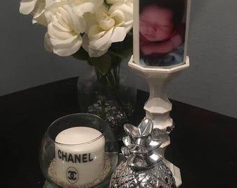 Customized small picture candles
