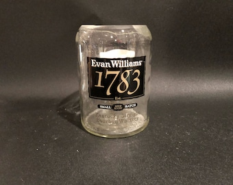 Evan Williams 1783 Candle Bourbon Whiskey BOTTLE Soy Candle. 750ML. Made To Order