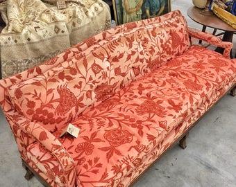 Vintage Crewel Sofa