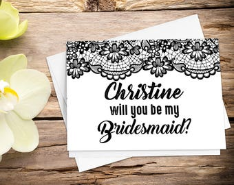 Printable will you be my with Setup, be my bridesmaid, bridal party card, bridesmaid card, bridesmaid gift, bridesmaid proposal