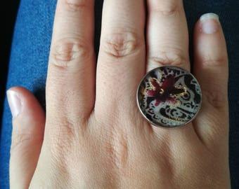 Extra large ring. 2.5 cm